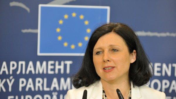 Evropsk� komisa�ka V�ra Jourov�