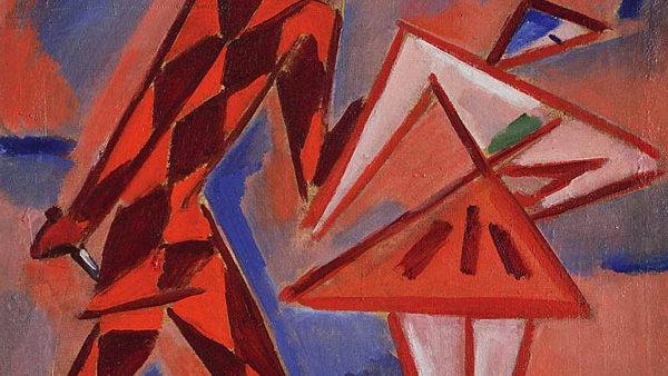 Harlekýn a Kolombína od Václava Špály prodané v Adolf Loos Apartment and Gallery za 6,12 milionu korun.