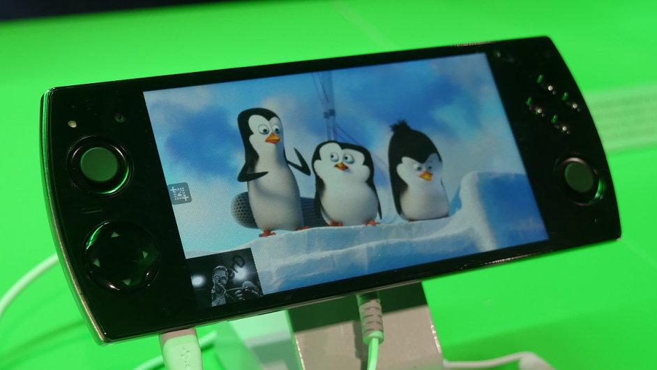 Herní Smartphone Snail W 3D