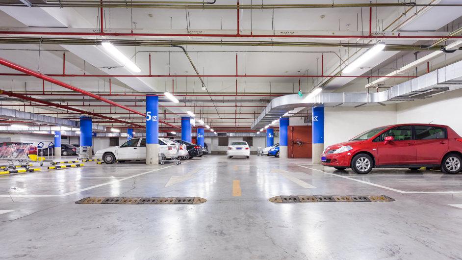 Podzemní garáže (ilustrační foto)