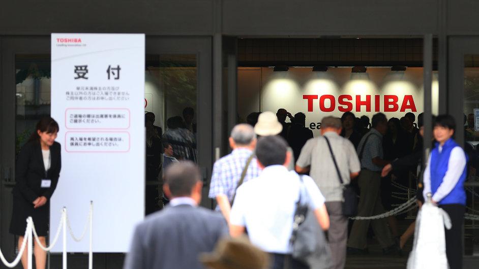 Účetní skandál Toshiby je největší od roku 2011, kdy byly odhaleny problémy japonské firmy Olympus - Ilustrační foto.