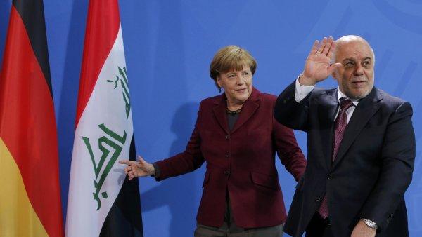 Německo půjčí Iráku 500 mil. eur, čeká, že to omezí počet běženců.