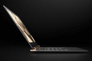 HP Spectre bere dech: Nejtenčí notebook na světě je celý z hliníku a uhlíkových vláken