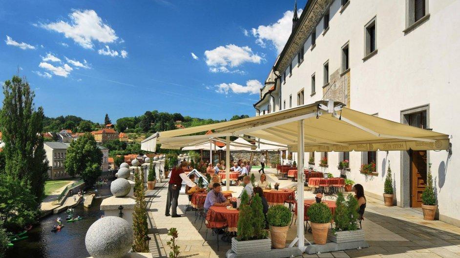 Hotel Růže v Českém Krumlově patří do skupiny Jan Hotels