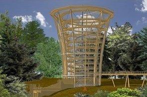 Stezka v korunách stromů vyroste i v Krkonoších. Začne už v podzemí a bude třikrát dražší než na Lipně
