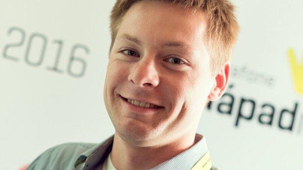Filip Maleňák vyvinul mobilní aplikaci na přivolání záchranné služby.