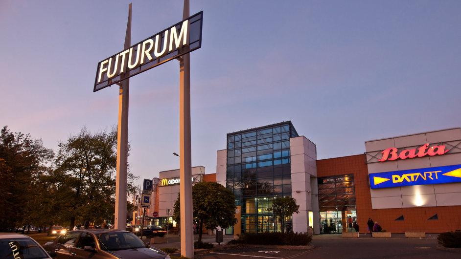 Ostravské nákupní centrum Futurum