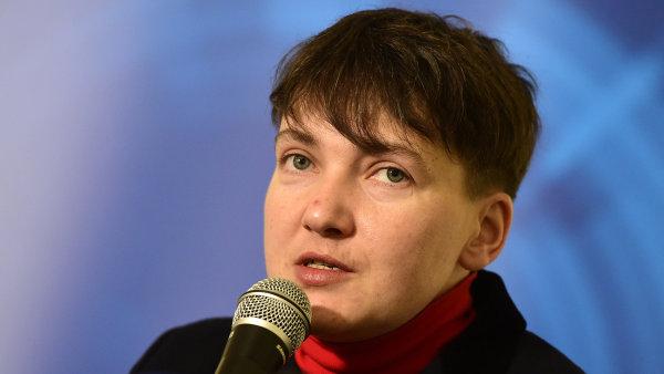 """""""Obracím se na všechny, kterým není lhostejné cizí utrpení,"""" vyzvala Savčenková."""