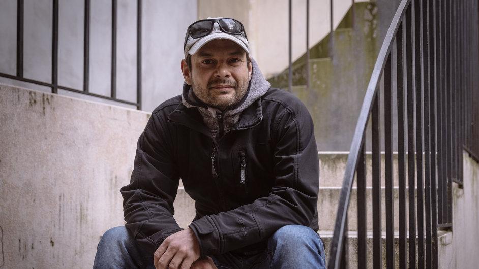 Ondřej Horváth z humanitární organizace Člověk v tísni