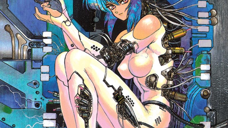 Ukázka z českého překladu komiksu Ghost in the Shell.