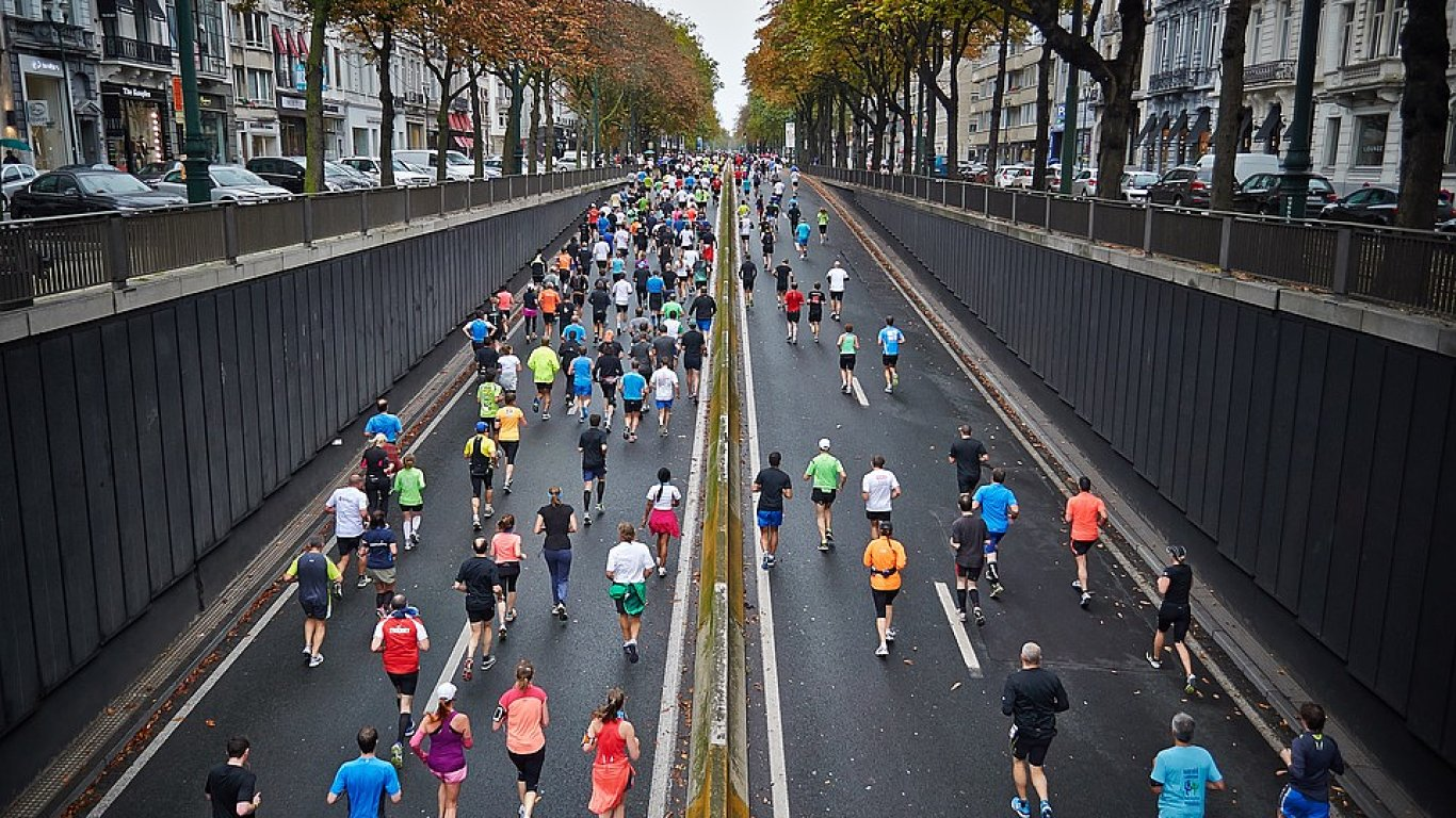 Maraton - ilustrační foto.
