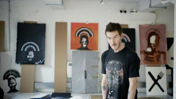 Na snímku je Robert Del Naja alias 3D, o němž se nyní opět spekuluje, že by mohl zároveň být Banksym.