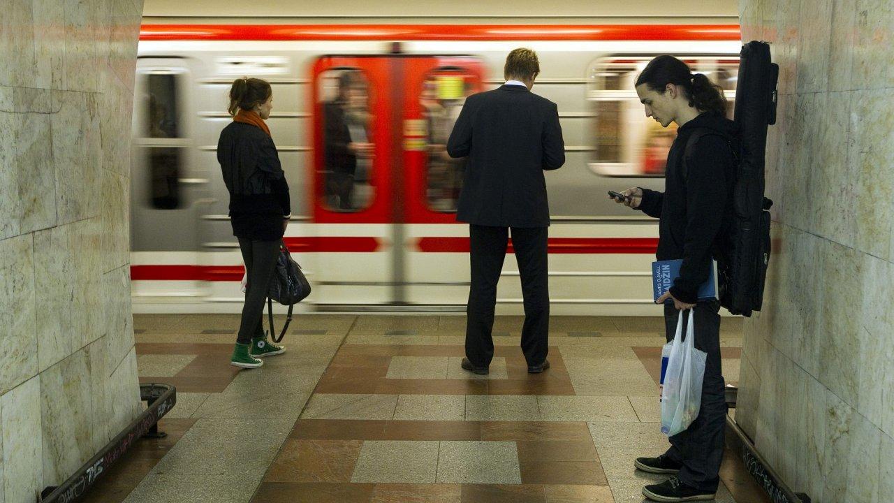 Metro. Ilustrační foto
