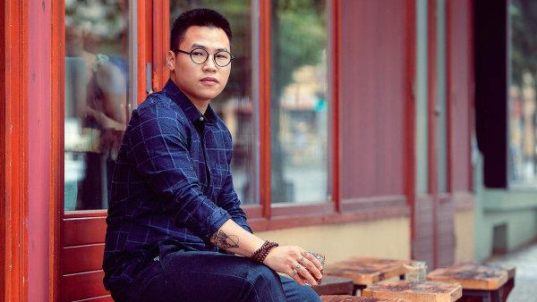 Jackie Tran, kavárník a designér vietnamského původu