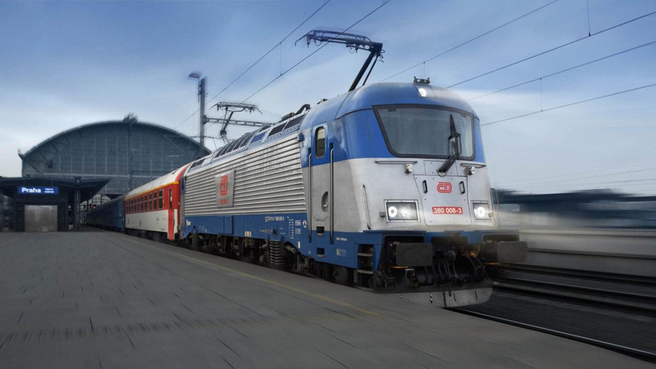 Výrobce lokomotiv a dalších kolejových vozidel Škoda Transportation míří do rukou Petra Kellnera. Na snímku je elektrická lokomotiva Emil Zátopek.