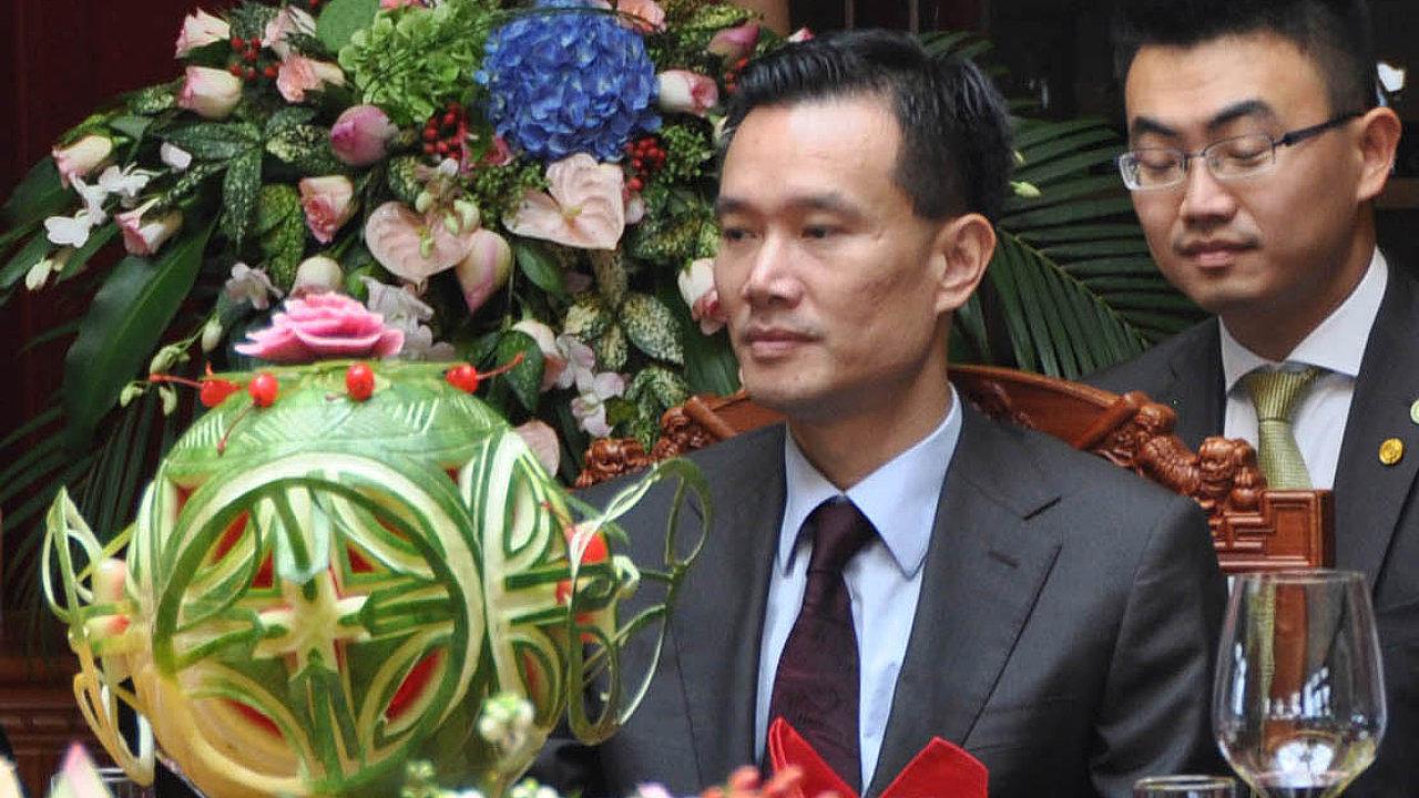 Jie Ťien-ming je už přes dva roky speciálním poradcem českého prezidenta Miloše Zemana
