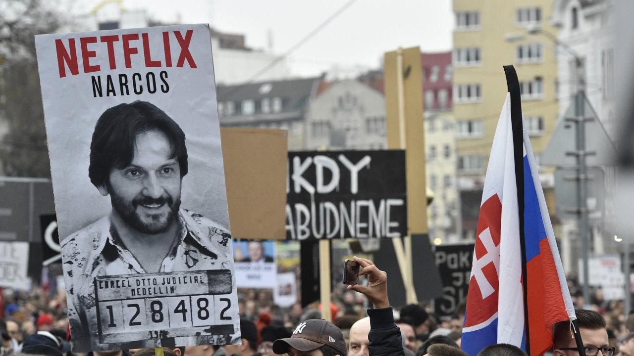 Na Slovensku začaly protivládní protesty - Ilustrační foto.