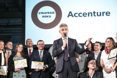 Roberto Libonati, generální ředitel společnosti Accenture, vítěz kategorie TOP Odpovědná velká firma 2017