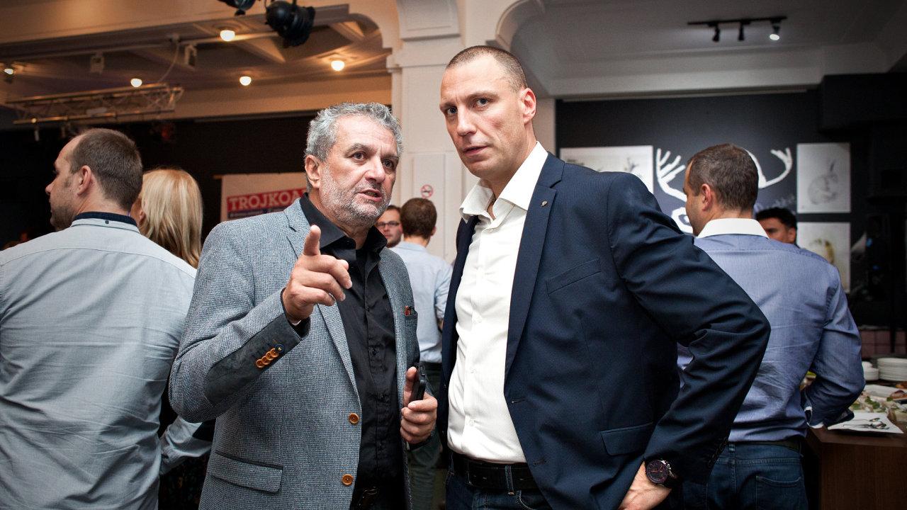 Vpravo pražský radní Jan Wolf (Trojkoalice).