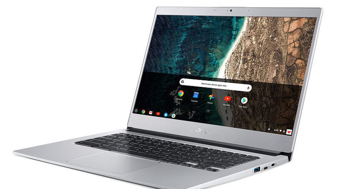 Jsou imunní vůči virům a za skvělou cenu. Acer představil nové chromebooky.