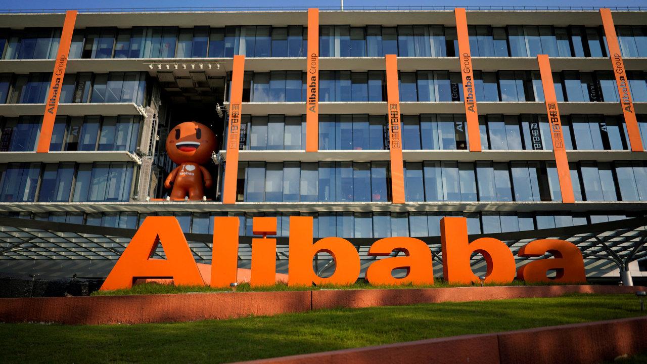 Tržní hodnota Alibaby je nyní téměř 490 miliard dolarů.