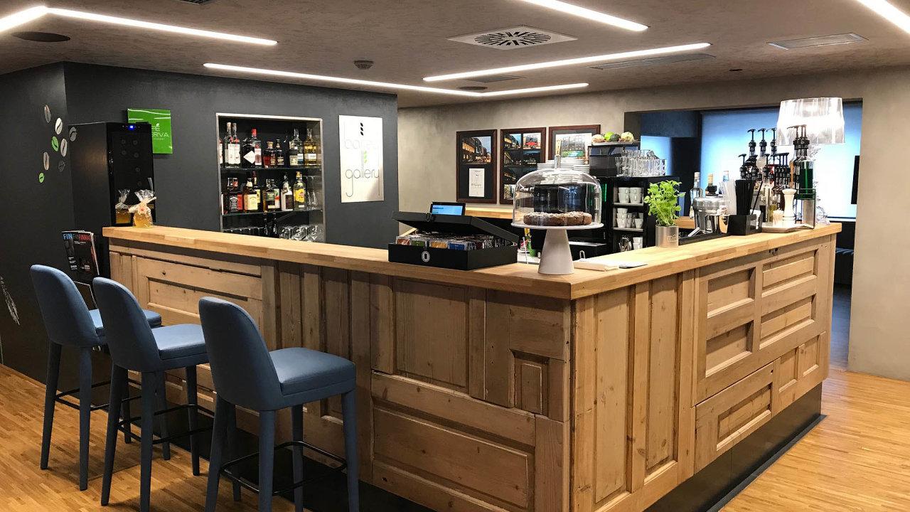 Kavárna Barley Café Gallery
