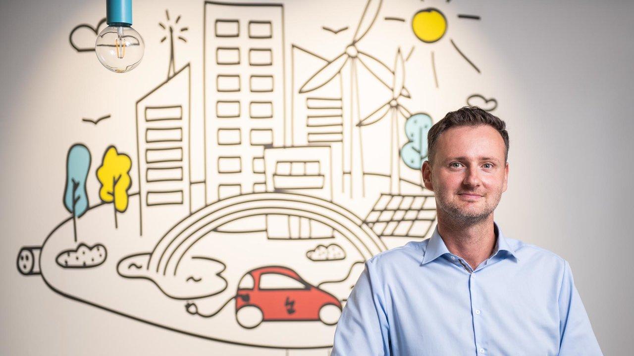 Martin Klíma, vedoucí oddělení Mobility Services v E.ON.