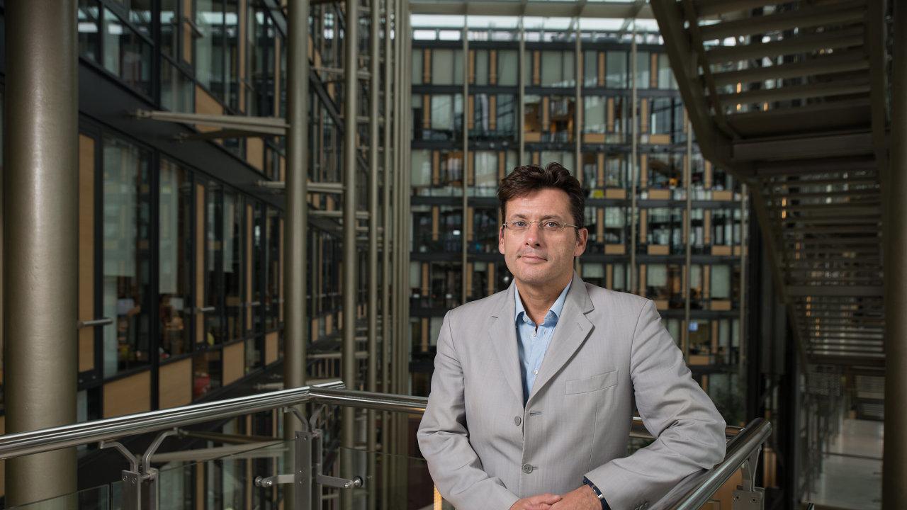 Generální ředitelKomerčnípojišťovny Gaël Loaec