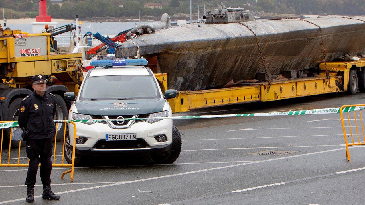 Poprvé vEvropě. Policisté mají konečně prototyp ponorky kdispozici. Je to jednorázové plavidlo jen najednu cestu.