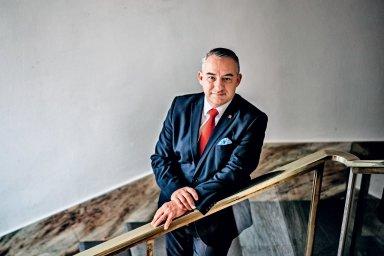 Předseda Českomoravské konfederace odborových svazů Josef Středula.