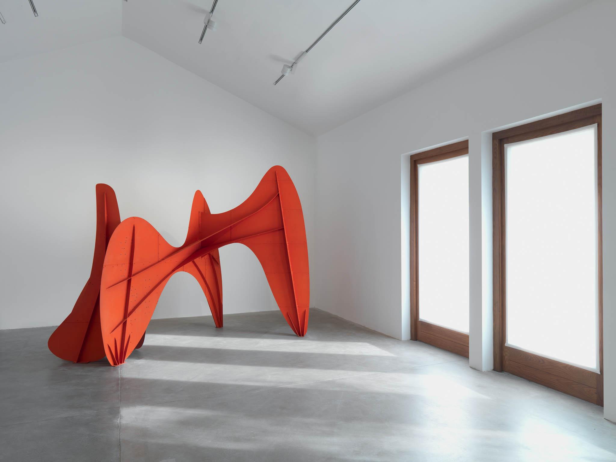 Výstava Alexandera CalderavHauser&Wirth Somerset (2018)