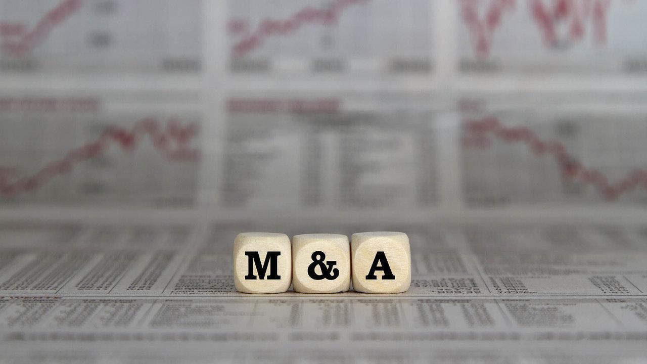 Pro fúze a akvizice se používá zkratka M&A (z anglického mergers and acquisitions). V Česku a na celém světě je teď komplikuje situace kolem koronaviru.