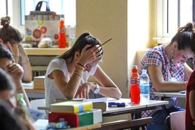 Matematiku si loni na jaře vybrala zhruba pětina maturantů, ale 15,5 procenta z nich neuspělo - Ilustrační foto.