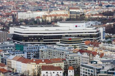 Kongresové centrum Praha: Hlavní příjmy má nyní budova napražském Vyšehradě zpronájmu kancelářských prostor.