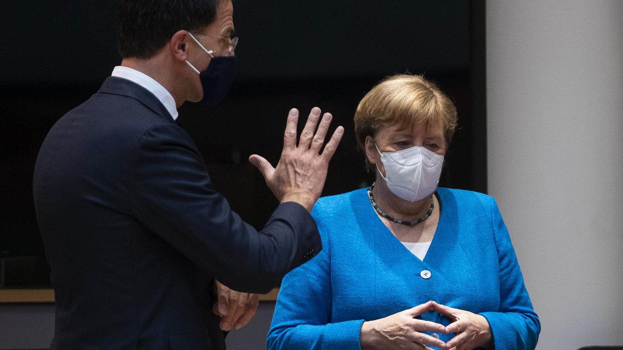 Tak pozor, Angelo. Nizozemský premiér Mark Rutte vede skupinu zemí, které se nelíbí, aby velká část pomoci státům zasaženým pandemií šla formou nevratných dotací.