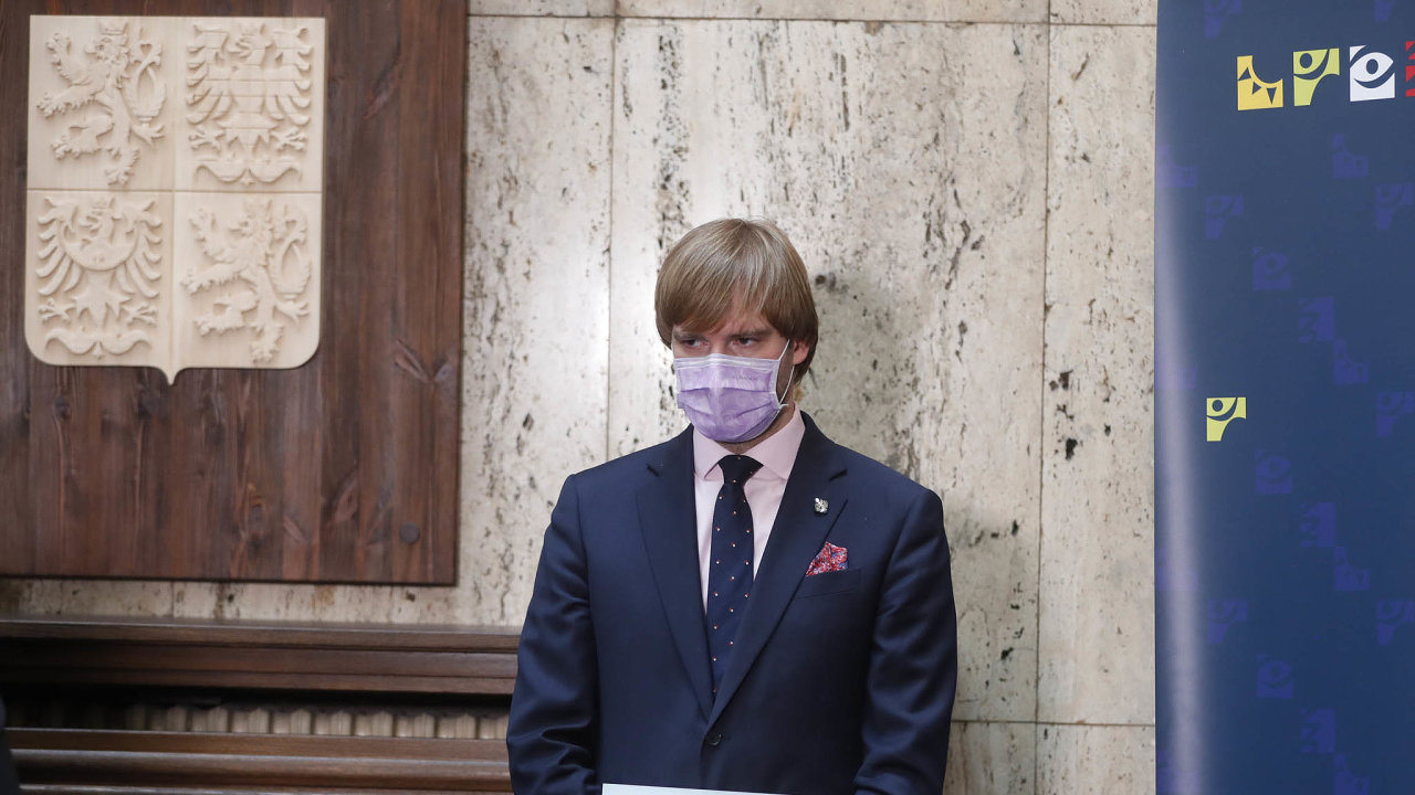 Ministr zdravotnictví Adam Vojtěch (zaANO)