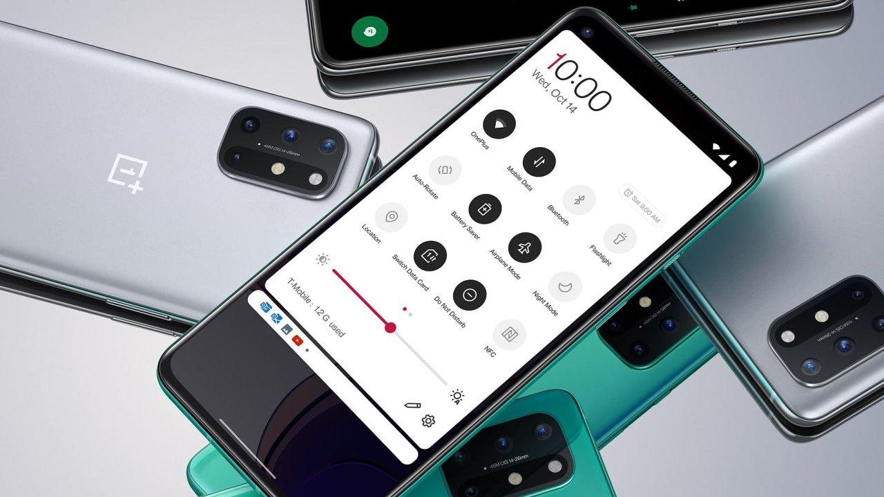 OnePlus 8T má rychlý displej i nabíjení