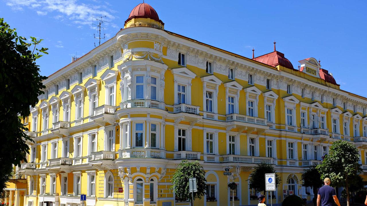 Krizi odnesla také firma Františkovy Lázně Savoy. Jejím jediným akcionářem je právě Arca Investments.