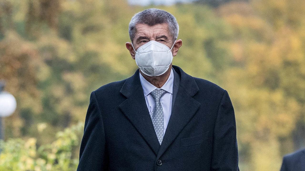 Vláda podle premiéra Babiše (na snímku) nouzový stav zvládne ibez účasti ČSSD.