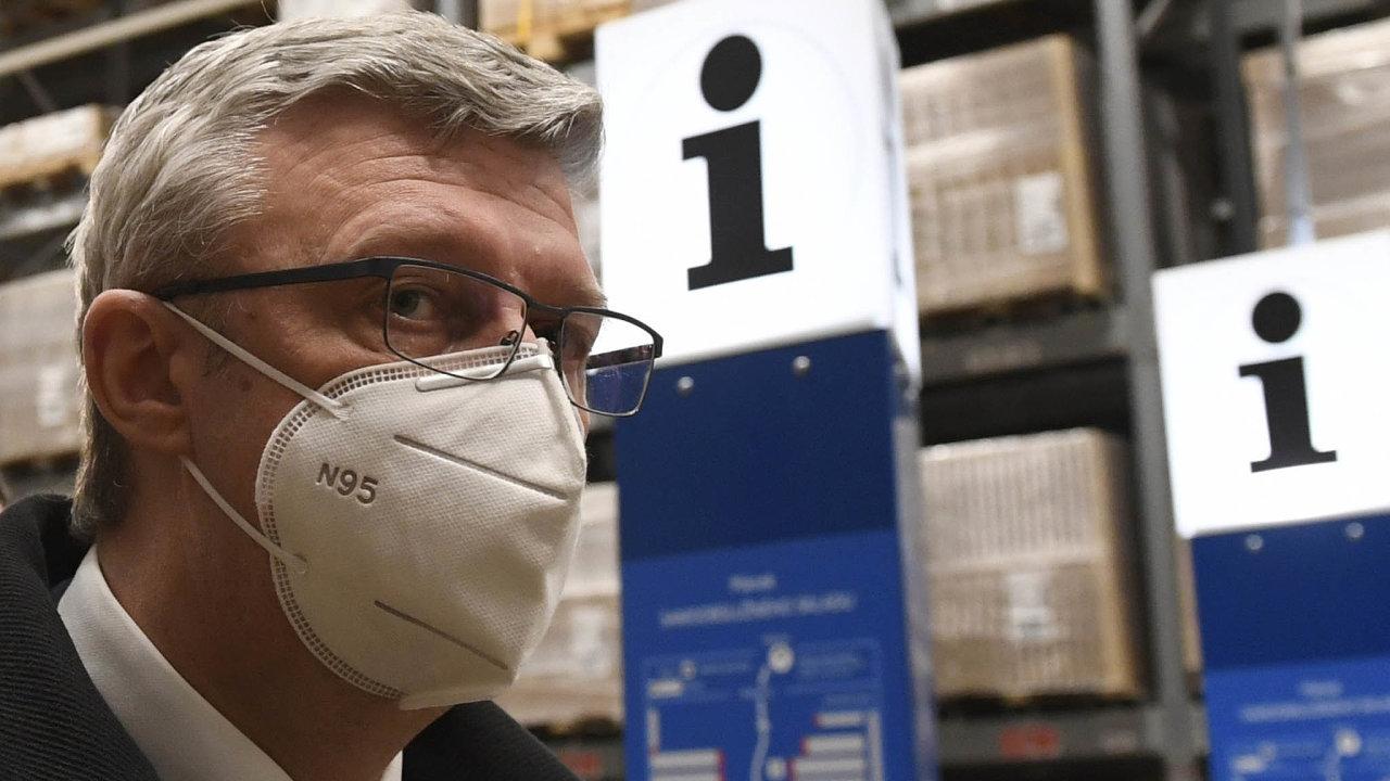 Ministr Karel Havlíček oznámil vpondělí nový systém podpory firmám zasaženým dopady koronavirové krize. Jeale jiný, než ojakém spodnikateli jednal.