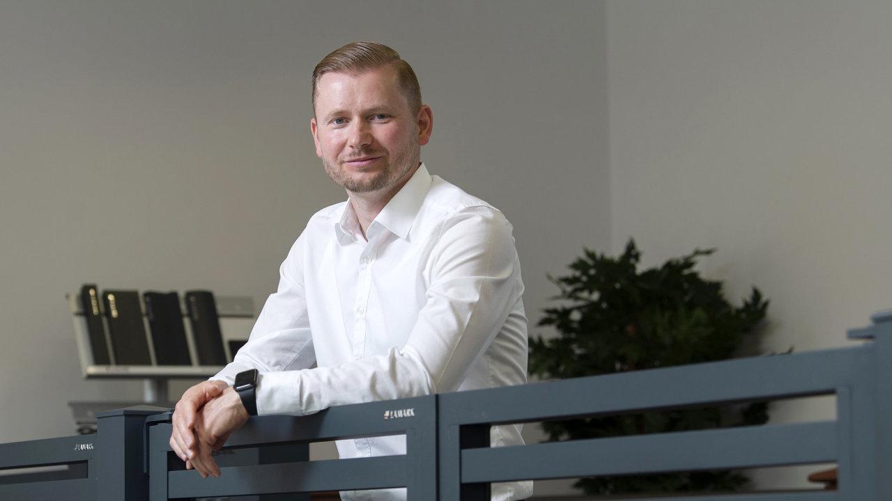 Milan Kučera CEO firmy Lamark