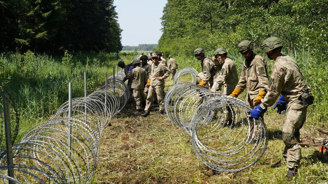 migranti, Litva, plot