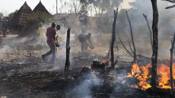 Výsledky súdánského bombardování v Bentiu
