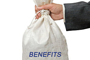 Benefity - ilustrace