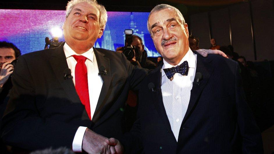 Prezidentští kandidáti před televizní debatou