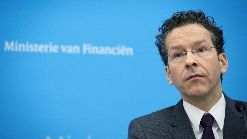 Nizozemský ministr financí Jeroen Dijsselbloem.