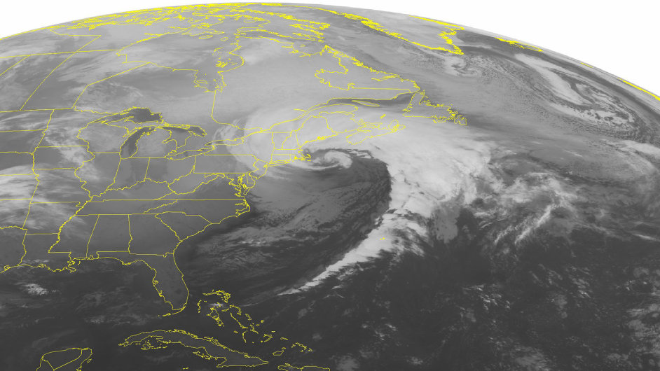Bouře v Severní Americe