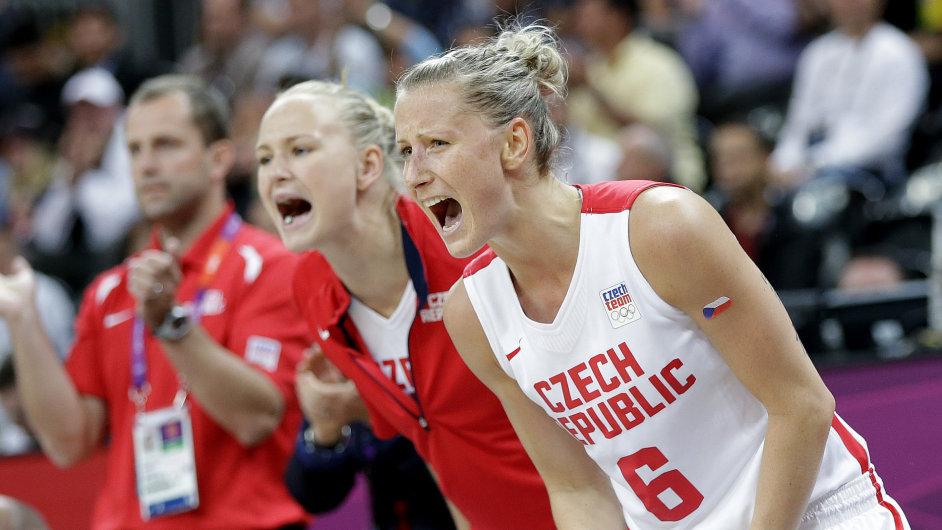 České basketbalistky