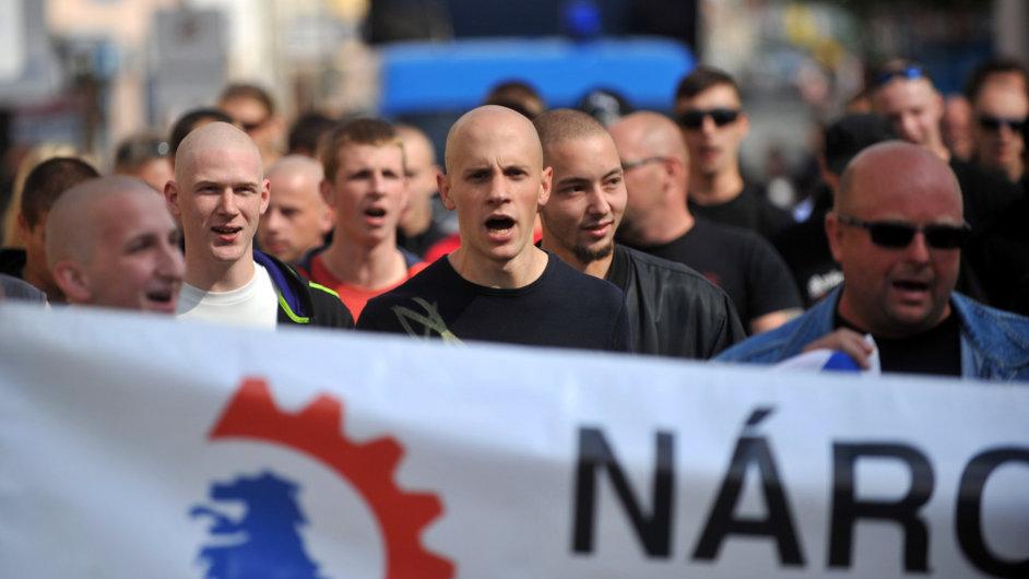 Protiromský pochod Jičínem