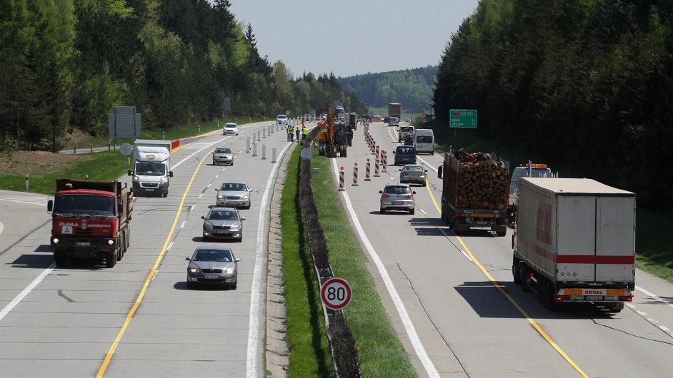 Dálnice D1, ilustrační foto